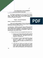 DECS SERVICE MANUAL_09 VII - Human Resource Management and Development Policies