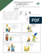 Revision Worksheet Unit 3 3º Ano