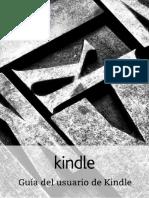 Guia Del Usuario Kindle