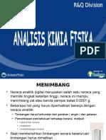 Analisis Kimia Fisika