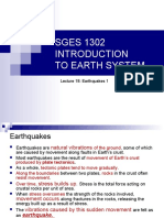 SGES 1302 Lecture18 Mtexercise2015 Earthquakes1