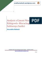 #9-Analysis of Janani Ninuvina
