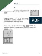 Graphing FunctionsTi84+ Handout