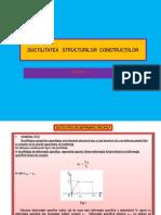 C8-DUCTILITATEA   STRUCTURILOR  CONSTRUCŢIILOR.pptx