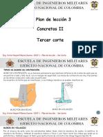 Plan de Leccion 3- 3do Corte Concretos II