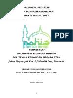 Proposal Kegiatan Buka Bersama & Baksos 2017