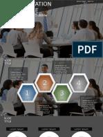 Business People Having Board Meeting PowerPoint by SageFox 850