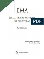 EMA - Escala Multidimensional de Asertividad - CUESTIONARIO