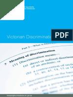 Victorian Discrimination Law Resource