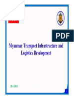 Myanmar Transport Infrastructure and Logistics Development