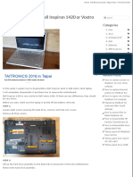 Dell Inspir on Vostro 1400