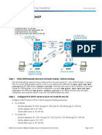 Ccnpv7.1 Switch Lab5-2 Dhcp46 Student