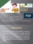 Asthma in Children Ppt 1
