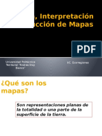 Lectura, Interpretación y Producción de Mapas