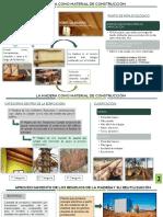 la madera como material de construccion