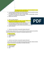 Cuestionario Sobre Impacto Ambiental