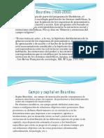 P Bourdieu
