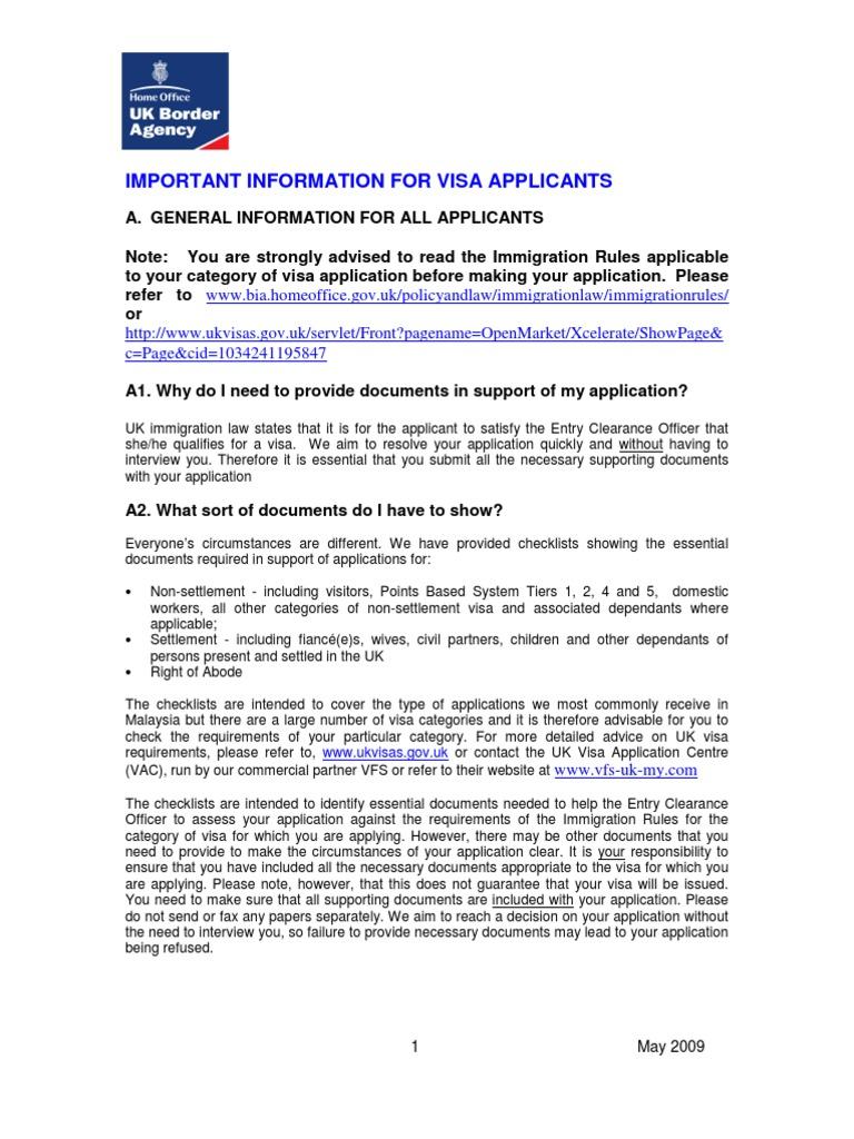Important information for uk visa applicants travel visa passport falaconquin