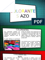COLORANTES AZO