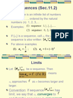 Sequences (Ch.11)