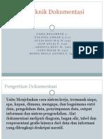 SIA-Sistem Teknik Dokumentasi