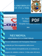 T2 Neumonías Adquiridas en La Comunidad (NAC)