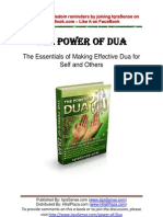 Power of Dua