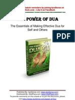 Power of Dua