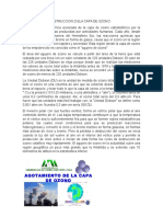 AGOTAMIENTO Y DESTRUCCION D ELA CAPA DE OZONO.docx