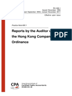 HK Auditor Report Handbook