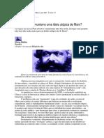 Por que o comunismo de Marx não é uma utopia?