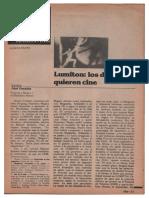 Posadas, Abel - Lumiton. Los Doctores Quieren Cine