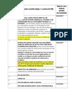 Lista documente utilaje + constructii 4 1