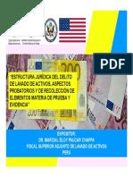 Estructura Delito Lavado de Activos (Dr. Paucar)