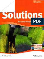 Solutions 2nd Ed - Upper-Interm SB