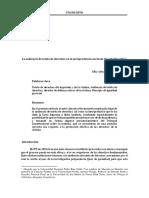 La Audiencia de Tutela de Derechos Según La Jurisprudencia Nacional Elky Villegas Paiva