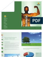 Placement Brochure of Energy Systems 2009-10 For University of Petroleum & Energy Studies