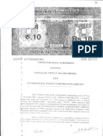 Agreement Uttaranchal