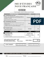 Delf  b1 Tp Candidat Ind Sujet Demo Pour l'Élève