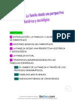 Apuntes Trabajo Social Con Familias La Familia Desde Una Perspectiva Historica y Sociologica Casos Practicos
