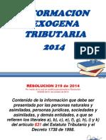 Exogena Ag 2014