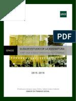 Teoria Del Trabajo Social Con Grupos Plantilla 2 Guia de Estudio 2015 2016