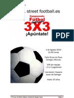 Bases Futbol callejero 3x3