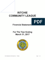 2016 -17 Financial Statements