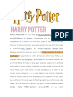 Harry Potter Herramientas Marissa