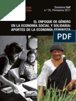 Dossieres EsF 25 El Enfoque de Género en La ESS