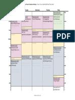 uhcw 2017 schedule