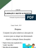 Curso de Projetos 2013 (1)