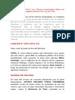 Casación 15811-2014 Ica Obreros Municipales Deben Ser Contratados Bajo Regimen Laboral 728 y No Por CAS