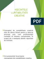 Consecintele Contabilitatii Creative